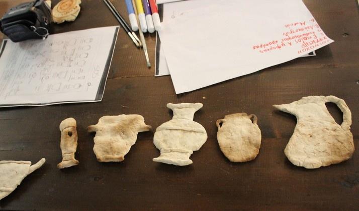 εργαστήρι αρχαιολογικής ανασκαφής