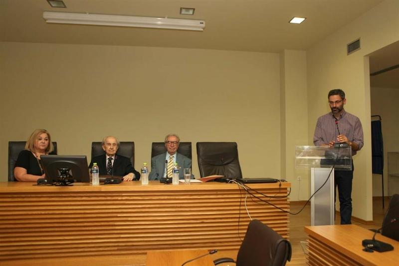 20-6-2015 Ο διεθνούς φήμης ιστορικός, ελληνιστής και πολιτικός αναλυτής κ. Παύλος Τζερμιάς