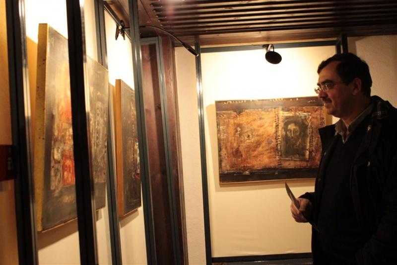 27-2-2015 Εγκαίνια Έκθεσης Χατζάκη