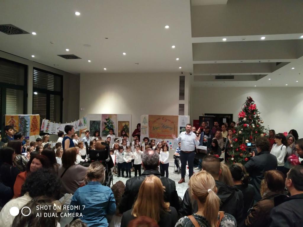 28-11-2019 Άναμμα Χριστουγεννιάτικου Δέντρου